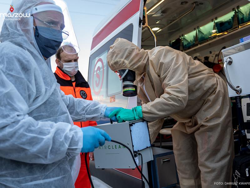 MZK pomaga szpitalowi i służbom mundurowym