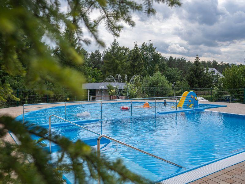 Na zdjęciu basen w ORDN