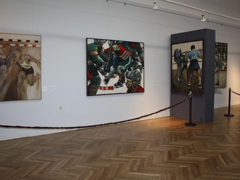 Na zdjęciu fragment wystawy tomaszowskiego muzeum