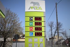 Stacja paliw MZK od jutra otwarta dla mieszkańców