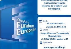 Mobilny Punkt Informacyjny Funduszy Europejskich – przyjdź, dowiedz się, skorzystaj!