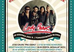 Koncert zespołu Lady Pank- informacje dla uczestników