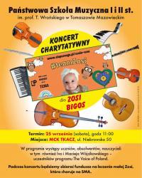 Koncert dla Zosi w Państwowej Szkole Muzycznej