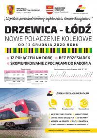 Nowe połączenie kolejowe z Tomaszowa Mazowieckiego do Drzewicy