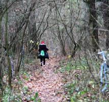 Biegali z mapą po lesie