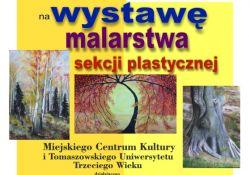 """Wystawa w ratuszu- """"W zaciszu drzew"""